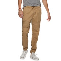 Mens Lazer Stretch Twill Moto Jogger Pants