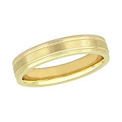 Stella Grace 10K Yellow Gold 4mm Wedding Band Ring