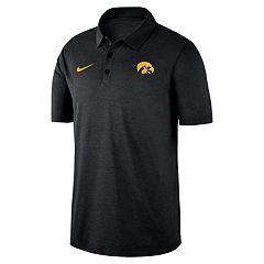 differently 4e0c7 ff10b Men s Nike Iowa Hawkeyes Dri-FIT Polo
