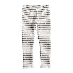 Girls 4-12 Jumping Beans® Print Fleece Leggings