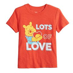 Disney's Winnie the Pooh Baby Boy Snow Heathered Graphic Tee by Jumping Beans®