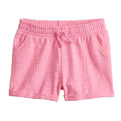 Baby Girl Jumping Beans® Rolled-Cuff Shorts