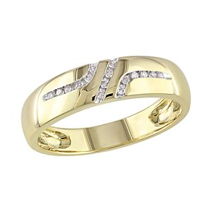 Stella Grace 10k Gold 1/10 Carat T.W. Diamond Band