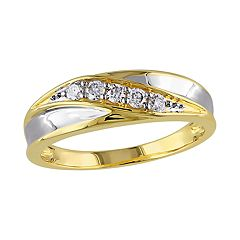 Stella Grace 10k Gold Two-Tone 1/4 Carat T.W. Diamond Ring