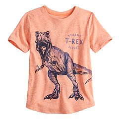 Boys 4-12 SONOMA Goods for Life™ Rounded Hem T-Rex Graphic Tee