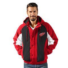 Men's Detroit Red Wings Heavy Hitter Jacket