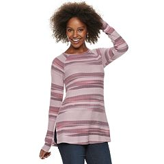 Women's SONOMA Goods for Life™ Supersoft Waffle Tunic