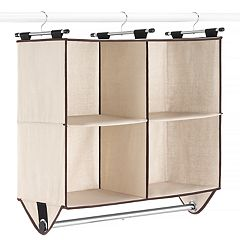 Whitmor 4 Section Closet Organizer