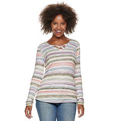 Women's SONOMA Goods for Life™ Supersoft Crisscross Top