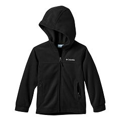 Boys 4-7 Columbia Fleece Flattop Ridge Zip Lightweight Jacket