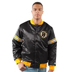 Men's Boston Bruins Draft Pick Bomber Jacket