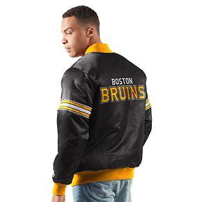 Men's Boston Bruins Draft Pick Bomber Jacket