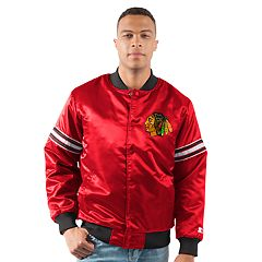 Men's Chicago Blackhawks Draft Pick Bomber Jacket