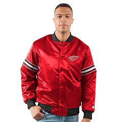 Men's Detroit Red Wings Draft Pick Bomber Jacket