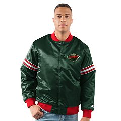 Men's Minnesota Wild Draft Pick Bomber Jacket