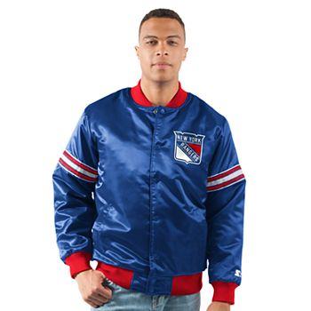 Men's New York Rangers Draft Pick Bomber Jacket