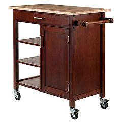 Winsome Marissa Rolling Kitchen Cart