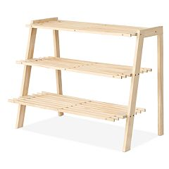 Whitmor Wood Shoe Shelves