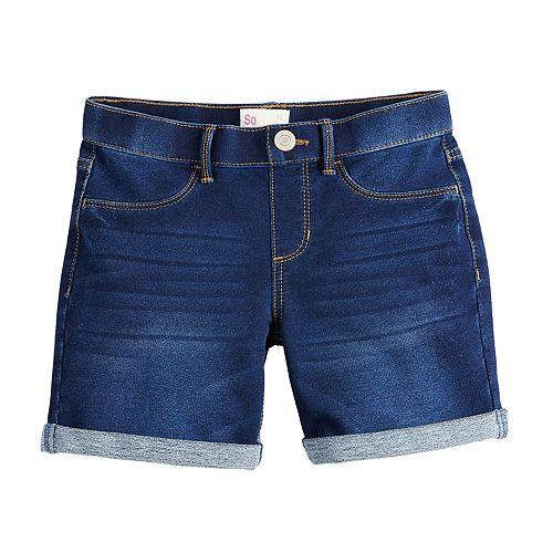Girls 7-16 SO® Pull On Midi Shorts