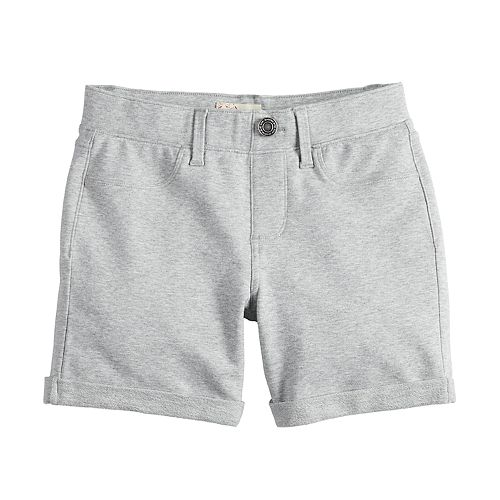 Girls 4-18 & Plus Size SO® Pull On Midi Shorts