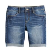Girls 7-16 & Plus Size SO® Denim Bermuda Shorts