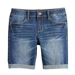 Girls 7-16 & Plus Size SO® Denim Bermuda Shorts