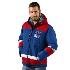 Men's New York Rangers Power Play Parka Jacket