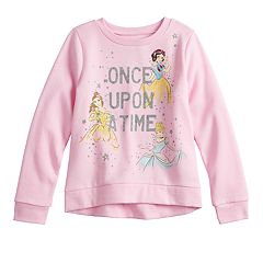 Disney Princess Girls' 4-12 'Once Upon A Time' Softest Fleece Sweatshirt by Jumping Beans®