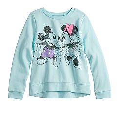 Disney's Mickey & Minnie Mouse Girls 4-12 Softest Fleece Sweatshirt by Jumping Beans®