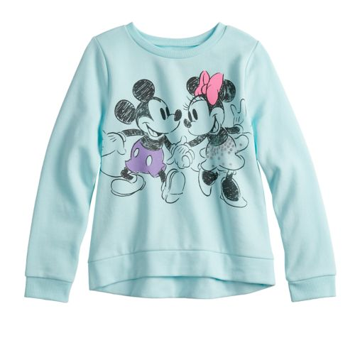 Disney's Mickey & Minnie Mouse Girls 4 12 Softest Fleece Sweatshirt By Jumping Beans® by Disney's Mickey & Minnie Mouse Girls 4 12 Softest Fleece Sweatshirt By Jumping Beans