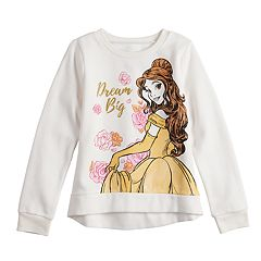 Disney's Beauty and the Beast Belle Girls 4-12 'Dream Big' Softest Fleece Sweatshirt by Jumping Beans®