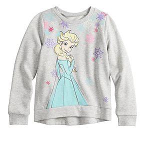 Disney's Frozen Elsa Girls 4-12 Graphic Softest Fleece Sweatshirt by Jumping Beans®