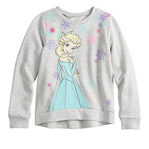 Disney's Frozen Elsa Girls 4-12 Graphic Softest Fleece Sweatshirt by Jumping Beans®
