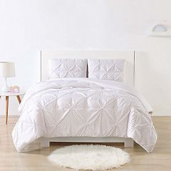 Laura Hart Kid's Dot Pinch Pleat Comforter Set