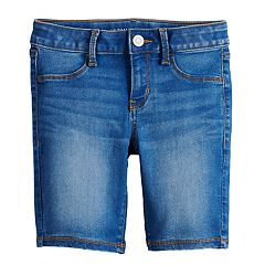 Girls 7-16 & Plus Size SO® Ultimate Denim Bermuda Shorts