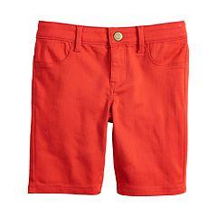 Girls 7-16 & Plus Size SO® Ultimate Denim Bermuda Shorts