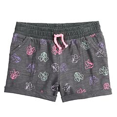 Disney's Minnie Mouse Baby Girl Print Slubbed Shorts by Jumping Beans®