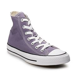 c59e1c9f2d9337 Adult Converse Chuck Taylor All Star High Top Shoes. Moody Purple. sale