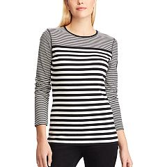 Women's Chaps Striped Tee
