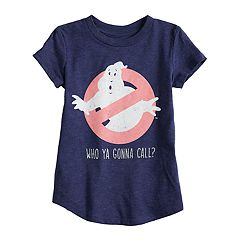 Toddler Girl Jumping Beans® Ghostbusters 'Who Ya Gonna Call?' Glittery Graphic Tee