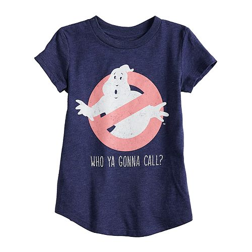 """Toddler Girl Jumping Beans® Ghostbusters """"Who Ya Gonna Call?"""" Glittery Graphic Tee"""