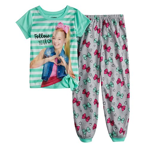 Girls 6-12 JoJo Siwa Top & Bottoms Pajama Set