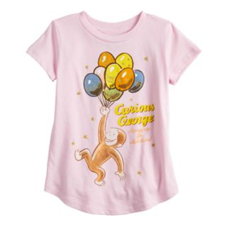 Toddler Girl Jumping Beans® Curious George Graphic Tee
