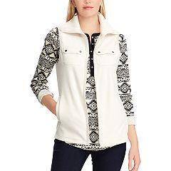 Women's Chaps 2-Pocket Fleece Vest