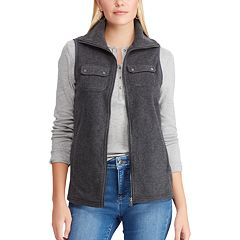 Women's Chaps 2-Pocket Fleece Vest