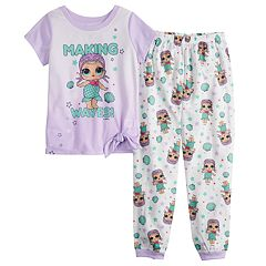 Girls 4-10 L.O.L. Surprise! Top & Bottoms Pajama Set