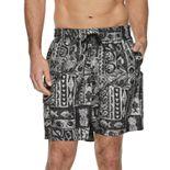 Men's Croft & Barrow® Tropical Swim Trunks