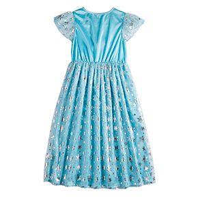 Disney's Frozen Elsa Girls 4-8 Fantasy Gown Nightgown