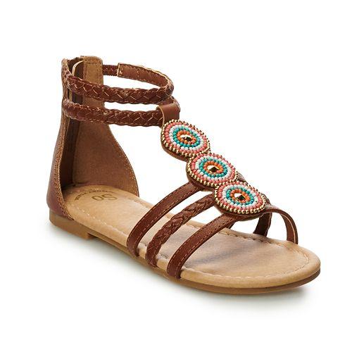 SO® Melt Girls' Gladiator Sandals