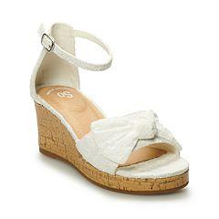 SO® Hadlee Girls' Wedge Sandals